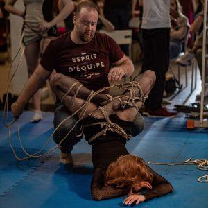 Участник фестиваля шибари RopeFest Moscow 2019: Artefackt